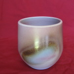 Cup,burnished Copper 90 mm. high $45