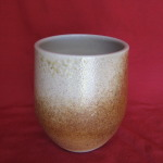 Cup, burnished Copper100 mm. high $49