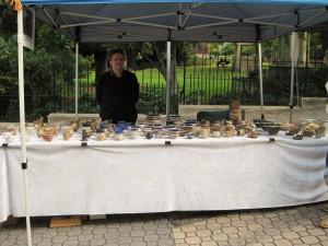 John at the Salamanca market in Hobart